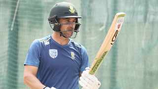 Dean Elgar is remains positive ahead of the final test against India. Photo: Gavin Barker BackpagePix