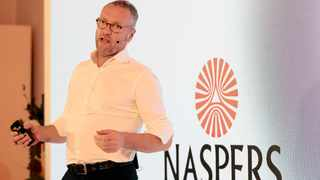 Naspers chief executive Bob van Dijk says Prosus has invested $2.8 billion (R41.32bn) across more than 40 markets since 2016 to build a global food delivery business in partnership with some of the leading players in the world. Photo: Reuters