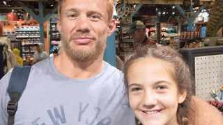 On the day he suffered his stroke just over a year ago, professional rugby player Ethienne Reynecke, 38, was having a perfectly ordinary day. Picture: Supplied
