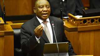 South African President Cyril Ramaphosa said his administration is on track to lure $100 billion in new investment within five years, with more than $16 billion already committed and many more projects in the pipeline. Photo: GCIS