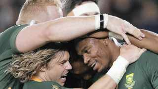 The Boks have reminded us how great we can be if we stand together. Photo: AP