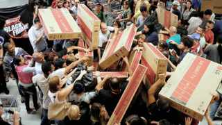 Online shopping is a far more relaxing shopping experience compared to the mad stampede in stores on Black Friday.     Pexels