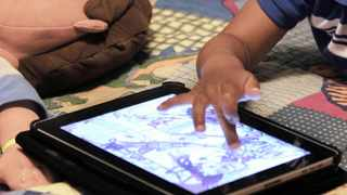 We can start by debunking the myth that screen time is bad for children. The truth is, screen time is not bad for children. Excessive screen time is bad. Picture: AP