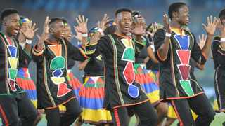 The Ndlovu Youth Choir. Picture: Karen Sandison African News Agency (ANA)