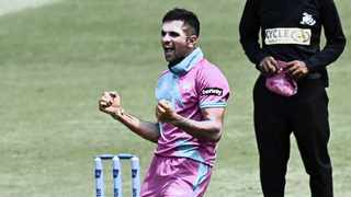 The Heat's hot-shot spinner Keshav Maharaj has not only been regularly taking wickets but his economy rate has been excellent in this year's Mzansi Super League. Photo: Gerhard Duraan BackpagePix