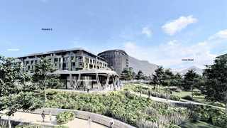 An artist's rendering of what would be a Heritage and Cultural Media Centre, as part of the controversial R4billion development proposed by the Liesbeek Leisure Properties Trust, next to the Riverclub in Observatory. Image: Liesbeek Leisure Properties Trust