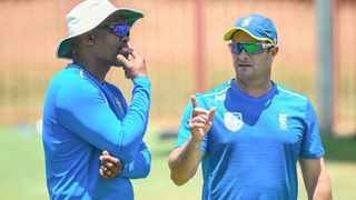 Mark Boucher, coach of the Proteas,has left his side for the third Test unchanged. Photo: Christiaan Kotze BackpagePix