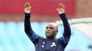 Mamelodi Sundowns coach Pitso Mosimane admits he's been taking a leaf out of serial championship-winning coach Gavin Hunt's book, saying that the league title is not won midway through the season. Photo: BackpagePix