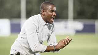 Rhulani Mokwena is not ruling out the possibility of being an assistant coach again, but for now, saving the Chilli Boys from relegation is key. Photo: BackpagePix