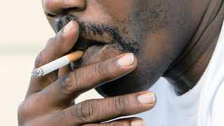 The sale of cigarettes is banned during the nationwide lockdown. Picture: AP
