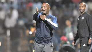 Mamelodi Sundowns has given Pitso Mosimane a new four-year contract. Picture: Sydney Mahlangu/BackpagePix