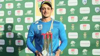 Quinton de Kock leads the way in this year's CSA Awards  earning six nominations across various international categories. Photo: Samuel Shivambu/BackpagePix