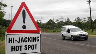 South Africa loses more than R8.5 billion to vehicle theft and hijacking each year. File photo: INLSA