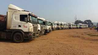 The truck drivers' strike, organised by Coal Transportation Forum, was against the contracting of IPPs as it would lead to job losses.