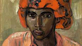 RARE: Irma Stern's Young Arab (1942) is a rare portrait captured on visits to Zanzibar in the early 20th century.