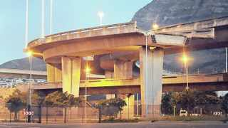 The city's Foreshore freeway bridge project has been scrapped. Picture: David Ritchie/African News Agency/ANA