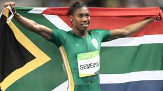 Olympic champion Caster Semenya has targeted more gold medals and record times as she builds up the IAAF World Championships. Photo: Mike Egerton/PA