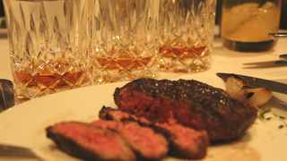 HQ's Whisky dinner is back this Wednesday. File pic
