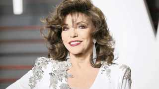 84-year-old actress Joan Collins. (Pic: Reuters)