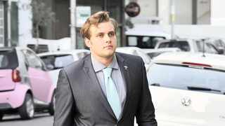 Henri van Breda, 22, has been charged with three counts of murder, one of attempted murder and one of defeating the ends of justice after his mother Teresa, 55, father Martin, 54, and brother Rudi, 22, were killed with an axe. Picture: Noor Slamdien