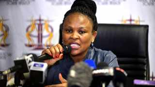Public Protector Busisiwe Mkhwebane is under pressure from Parliament and the ANC. Picture: Bongani Shilubane