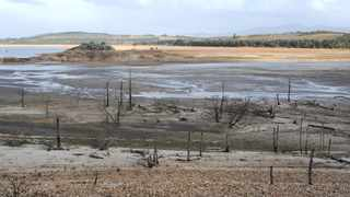 The Theewaterskloof Dam near Villiersdorp. The City of Cape Town is appealing to residents not to relax their water-saving efforts. Picture: Henk Kruger