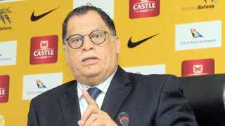 More than two years ago, Safa president Danny Jordaan announced that there would be a new commission rule of 3 percent. Photo: Sydney Mahlangu/BackpagePix
