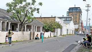 Residents of Bromwell Street in Woodstock are still awaiting their fate after being served with an eviction order in 2016 by The Woodstock Hub. Picture: Tracey Adams/African News Agency