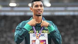 Wayde van Niekerk will be one of the most important athletes at the 2018 Commonwealth games. Photo: Facundo Arrizabalaga/EPA