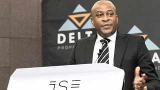 Sandile Nomvete, chief executive of the black-managed and empowered Delta Property Fund, presents the company's results.