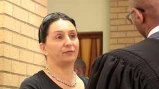 Vicki Momberg, who was caught on camera racially abusing a police officer, was found guilty of four counts of crimen injuria. Picture: Dimpho Maja/ANA