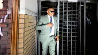 Former higher education deputy minister Mduduzi Manana leaves the Randburg Magistrate's Court after an earlier appearance. File picture: Nokuthula Mbatha/ANA