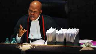 Chief Justice Mogoeng Mogoeng said ConCourt's ruling treaded on the issue of separation of powers between the National Assembly and the judiciary Picture: Boxer Ngwenya