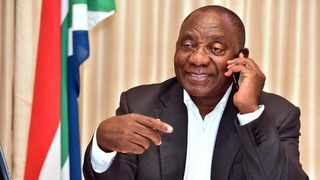Picture: President Cyril Ramaphosa Picture: @PresidencyZA/Twitter.