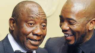 President Cyril Ramaphosa and DA leader Mmusi Maimane. File picture: Brenton Geach/Independent Media Archives