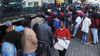 GETTING SERIOUS: A long queue of young job applicants outside the Johannesburg Road Agency's offices in Johannesburg. The enormity of addressing challenges of youth unemployment is going to be with us for a while and thus requires wisdom and longterm consideration in how we implement possible solutions. Perhaps the Yes initiative will be one of those glimpses of hope for our youth, says the writer. PICTURE: MATTHEWS BALOYI