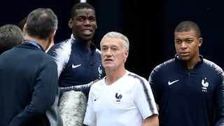 France coach, Didier Deschamps, believes Kylian Mbappe will continue improving. Photo: REUTERS/Carl Recine