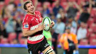 Kwagga Smith scored twice as the helped the Lions into a third consecutive Super Rugby final. Photo: Samuel Shivambu/BackpagePix