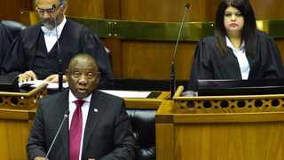 President Cyril Ramaphosa accounts to the nation on the work of government during his response to Questions for Oral Reply in the National Assembly in Parliament, Cape Town. Picture: Elmond Jiyane/GCIS.