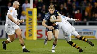 James O'Connor (in blue) in action for Sale Sharks. Photo: Craig Brough/Reuters
