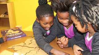 The township's first private bilingual girls' Innovation/Science/Tech/Engineering/ Arts/Maths (iSTEAM) school opened its doors last year. Picture: Supplied