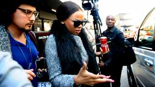Local TV personality Bonang Matheba appeared at the Johannesburg Specialised Commercial Crimes Court. File picture: Nokuthula Mbatha/African News Agency (ANA)