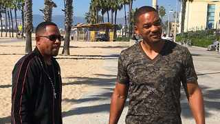 Martin Lawrence and Will Smith. Picture: Instagram
