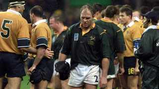 Former Springbok Naka Drotske is reportedly in a stable condition after sustaining gunshot wounds in a home invasion. File picture: Adam Butler/AP