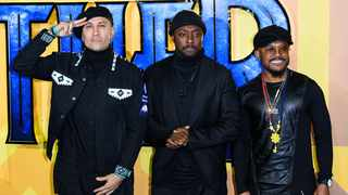 Taboo, will.I.am and apl.de.ap. Picture: Bang Showbiz