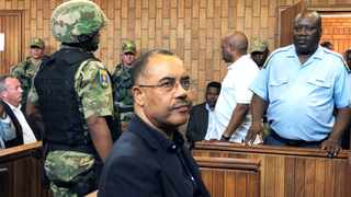 A South African judge ruled that the detention of Mozambique's former finance minister Manuel Chang over $2 billion of fraudulent loans was legal.  Picture: Reuters/Shafiek Tassiem
