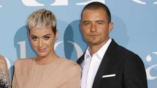 Katy Perry and Orlando Bloom. Picture: Bang Showbiz