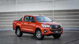 Toyota's Hilux once again topped the sales charts.