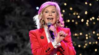 Olivia Newton-John is managing her cancer pain with cannabis. Picture: Reuters