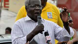 Afonso Dhlakama, head of Mozambique's opposition party Renamo. File photo: Grant Lee/Reuters